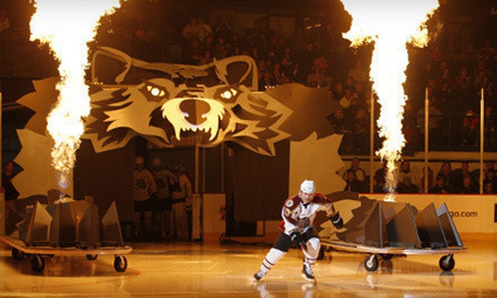 Chicago Wolves - Allstate Arena: $12 to See a Chicago Wolves Game at Allstate Arena (Up to $20.75 Value). Three Games Available.