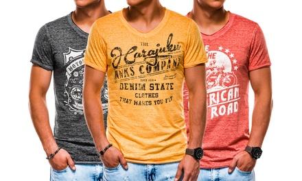 T-shirts Riders USA