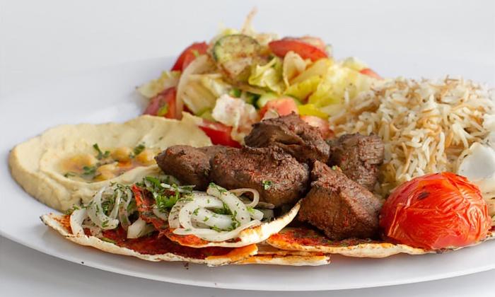 Aleppo Kitchen - Burbank: $12 for Two $10 Vouchers Toward Mediterranean Food at Aleppo Kitchen ($20 Value)