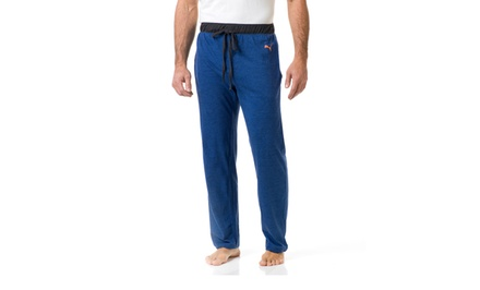 Puma Men's Sleep Pants with Contrast Waistband. Multiple Colors Available.