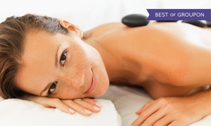 SpaForever: Swedish or Hot-Stone Massage Packages at SpaForever (Up to 62% Off). Three Options Available.