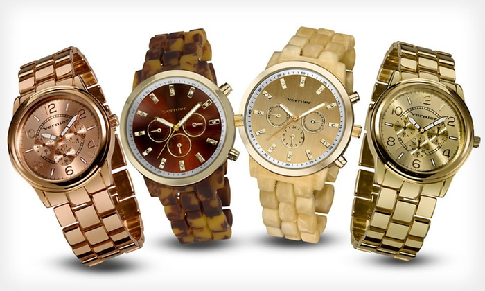 Vernier Women's Watches: Vernier Women's Watches (Up to 78% Off). 16 Styles Available. Free Shipping and Free Returns.