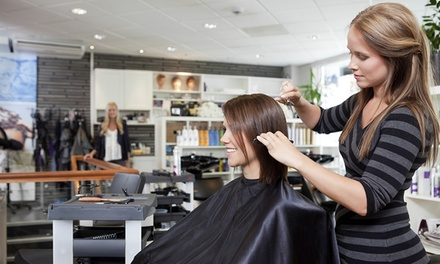$25 for Haircut, Conditioning, and Style at Jackie Rays Studio ($55 Value)