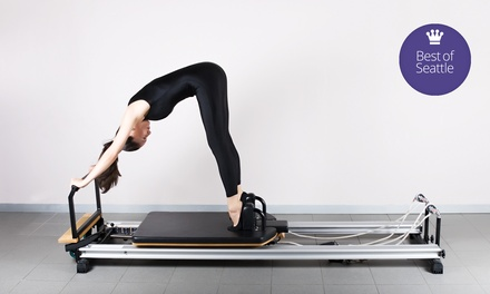 4 or 10 Small-Group Reformer Classes at Vitality Pilates Studio (Up to 80% Off)