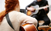 30-Minute or 60-Minute Singing, Guitar or Keyboard Lesson at River Studios
