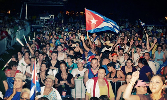 Festival Cubano - Belmont Central: Festival Cubano at Riis Park on Saturday, August 3, or Sunday, August 4, at 10 a.m. (Up to 55% Off)