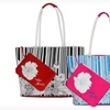 $18.99 for a Printed Floral Beach Tote