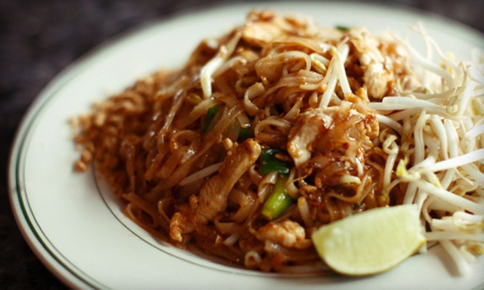 Pacifica Thai Cuisine - Sharp Park: Thai Cuisine for Two or Four at Pacifica Thai Cuisine (Up to 55% Off)