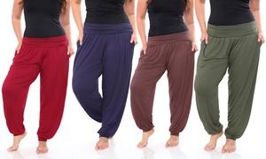 Women's Plus-Size Harem Pants