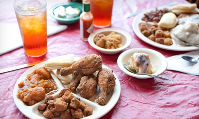 Two Sisters Kitchen - Two Sister's Kitchen: $15 for $30 Worth of Southern Food for Lunch. Two Options Available.