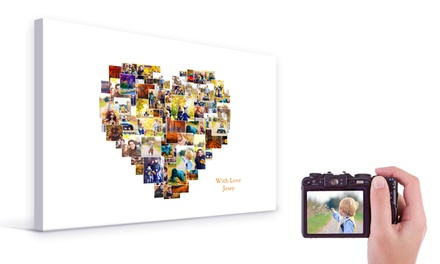 Personalised Collage Canvas from £5