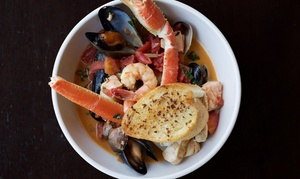 Killer Shrimp: Seafood, Steaks and Specialty Cocktails at Killer Shrimp (Up to 46% Off)
