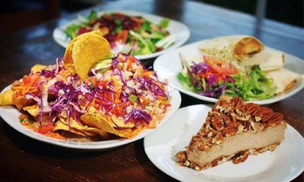 Gluten-Free, Plant-Based Cuisine at Vegeria Vegan Restaurant (40% Off).