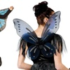 Kids and Adults' Halloween Wings Costume Sets