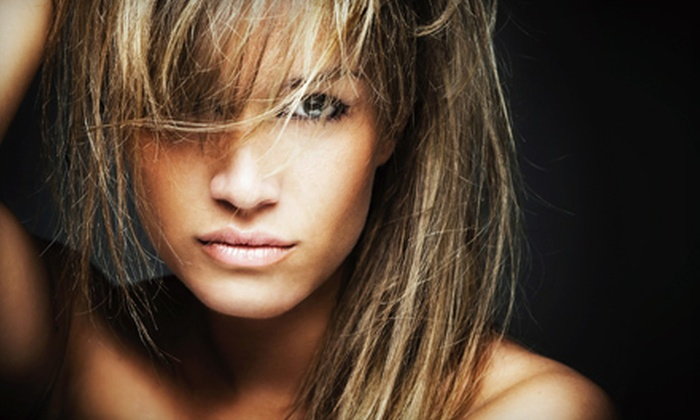 Salon Modello - South Lake Union/Downtown Seattle: Brazilian Blowout, or Haircut with Option for Partial or Full Highlights from HoMing at Salon Modello (Up to 53% Off)