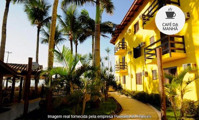 Bertioga/SP: 2 noites para 2 + café da manhã na Pousada Praia do Francês – parcele sem juros