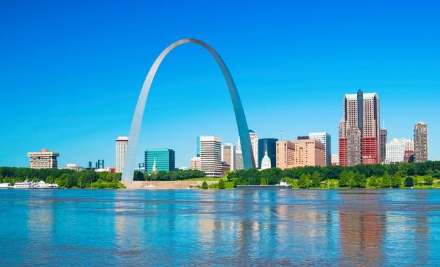 Hilton St. Louis Airport - St. Louis: Park 'n' Fly Stay at Hilton St. Louis Airport, with Dates into September.