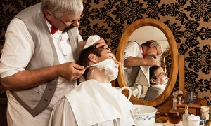 seven stars barber: Men's Hot-Towel Shave or Grooming Package at Seven Stars Barber
