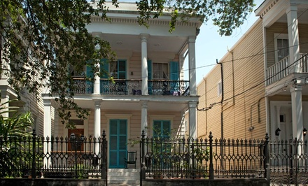 Groupon Deal: 1-Night Stay for Two in a Standard, Superior, or Deluxe Room at Fairchild House in New Orleans. Combine Up to 7 Nights.