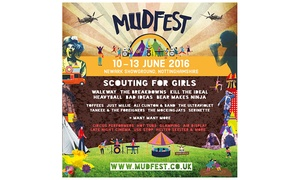 Mudfest 2016: One or Two Weekend Tickets to MudFest 2016 at Newark Showground, 10 - 13 June (Up to 31% Off)