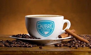 Calibre Coffee: $10 for Five Groupons, Each Good for $5 Worth of Coffee and Menu Items at Calibre Coffee ($25 Value)