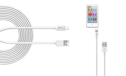 Jivo 10-Foot Apple Certified Lightning to USB Charge+Sync Cable. Free Returns.