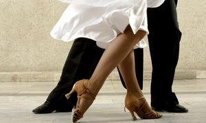 One Step Above: 5 or 10 Drop-In Ballroom-Dancing, Line-Dancing, or Chicago Stepping Classes at One Step Above (Up to 58% Off)