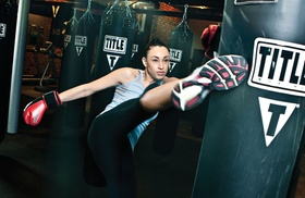 Title Boxing Club - Powell and Liberty Township: Two Week or One Month of Unlimited Boxing or Kickboxing Classes at Title Boxing Club - Powell & Liberty Township (Up to 71% Off)