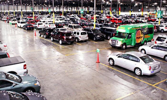 Peachy Airport Parking - Atlanta: 2, 4, 6, or 10 Consecutive Days of Indoor Parking at Peachy Airport Parking (Up to 54% Off)