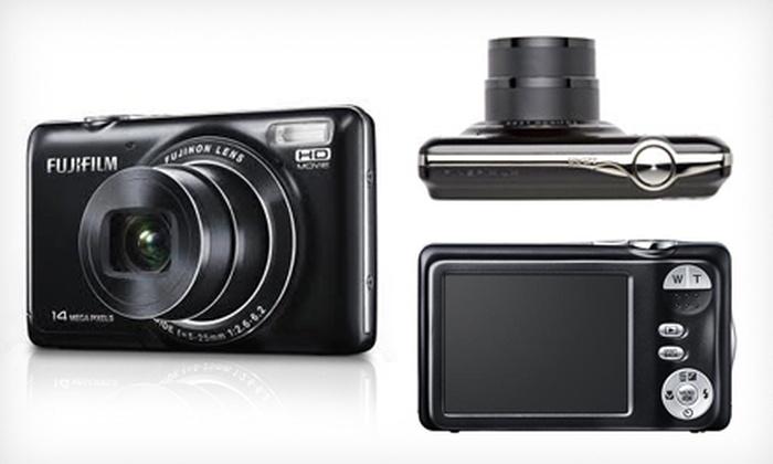 Fuji FinePix 14-Megapixel Digital Camera: Fuji FinePix 14-Megapixel Digital Camera with 5x Optical Zoom ($149 List Price). Free Shipping.
