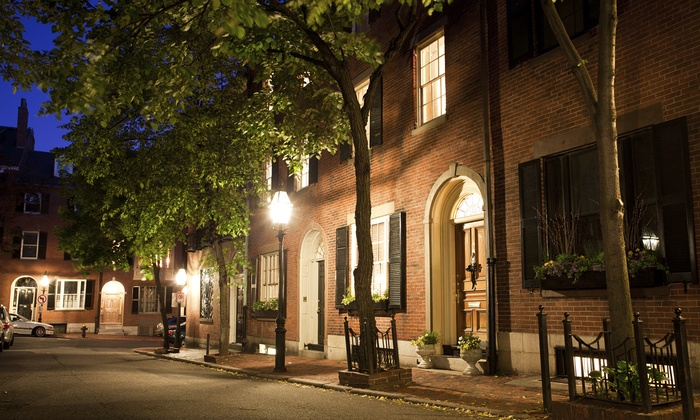 Boston Night Tour - Boston: Boston Ghost Tour for One, Two, or Four from Boston Night Tour (Up to 53% Off)