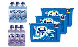 Procter & Gamble: Fino a 144 ecodosi Dash Pods 3in1 e ammorbidenti Lenor da 24,99 € con spedizione gratuita (fino a 22% di sconto)