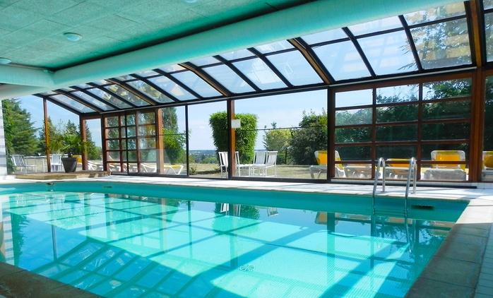 Vallée de la Loire : 1 à 3 nuits avec petits déjeuners, sauna et dîner en option, à l'Hôtel-Restaurant Luccotel pour 2