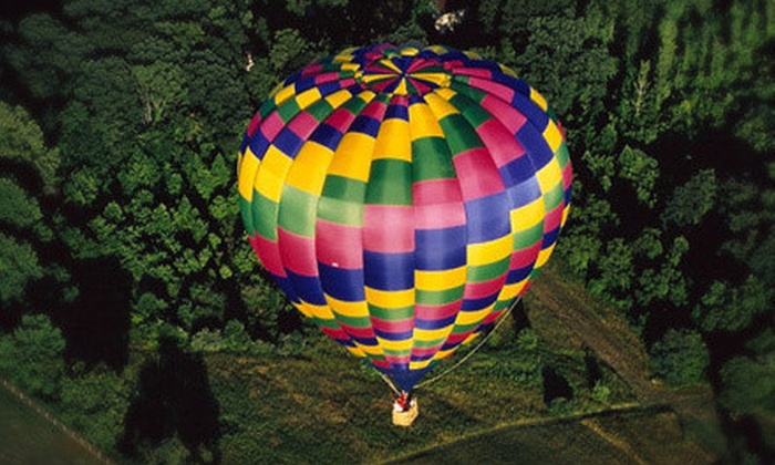 Air Ventures - West Vincent: Ride in a Hot-Air Balloon for Two, Four, or Six from Air Ventures (Up to 48% Off)
