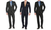 GROUPON: Braveman Men's 2-Piece Suit Braveman Men's 2-Piece Suit