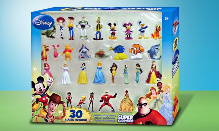 Disney 30-Piece Collectible-Figurine Set: Disney 30-Piece Collectible-Figurine Set. Free Returns.