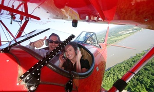 Classic Biplane Tours: $99 for 20-Minute Biplane Tour of Louisville from Classic Biplane Tours ($185 Value)