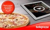 Telepizza - A Coruña: Telepizza: pizza mediana o familiar de masa fina con el humor de Comedy Central desde 5,95€