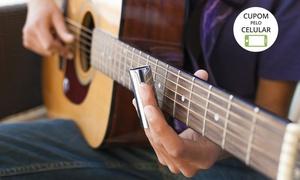 Top Music Escola de Música: Top Music  - Alto Petrópolis: 1, 3 ou 6 meses de aulas de música (voz, violão, guitarra, baixo, teclado ou sax)
