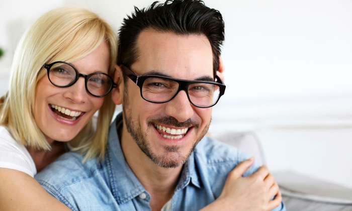 Eyes on Main - Annapolis: Eye Exam and Credit Toward One or Two Complete Pairs of Prescription Eyeglasses (Up to 88% Off)
