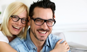 Eyes on Main: Eye Exam and Credit Toward One or Two Complete Pairs of Prescription Eyeglasses (Up to 88% Off)