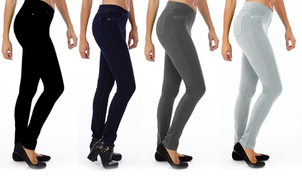 Women's Denim Jeggings