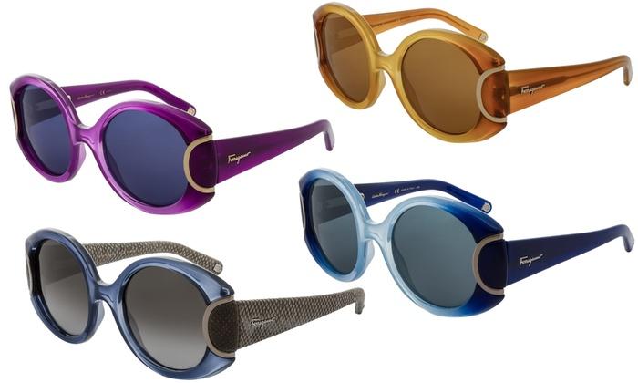 e00644dcf946 Salvatore Ferragamo Women's SF811S Limited Signature Sunglasses ...