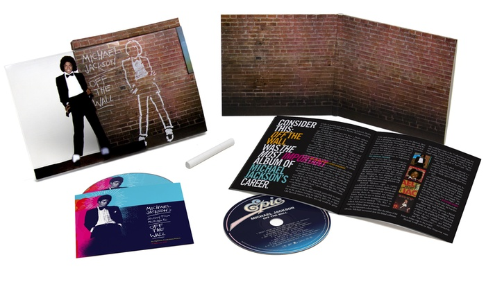 Michael Jackson: Off the Wall CD with Documentary DVD or Blu-ray ...