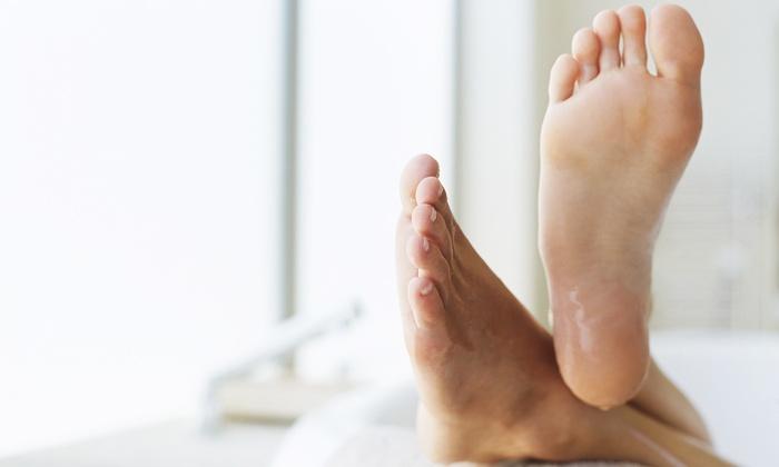 Prestige Podiatry - Carmel: Laser Toenail-Fungus Removal for One or Both Feet at Prestige Podiatry (67% Off)