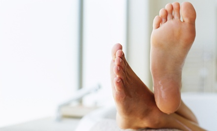 Laser Toenail-Fungus Removal for One or Both Feet at Prestige Podiatry (67% Off)