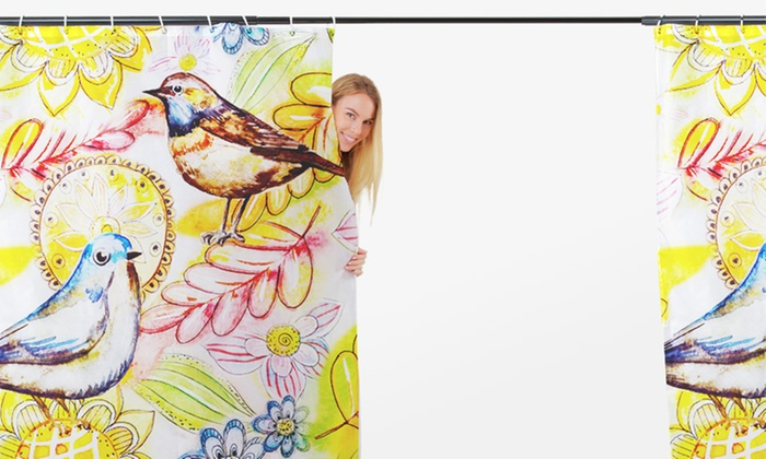 ArtsCow: $25 for a Personalized Shower Curtain from ArtsCow ($39.99 Value)