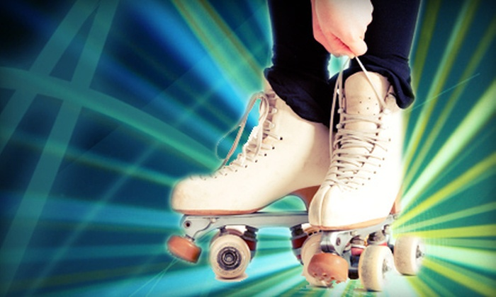 Skate Galaxy - Oklahoma City: Roller Skating with Skate Rentals for Two or Four at Skate Galaxy (Half Off)