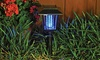 Solar Bug Zapper Garden Light