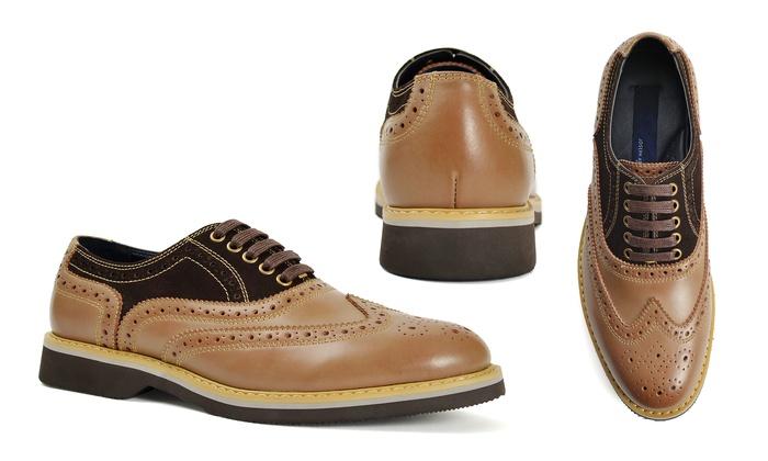 Joseph Abboud Men's Leather Oxford Shoes (Sizes 8, 8.5, 10)